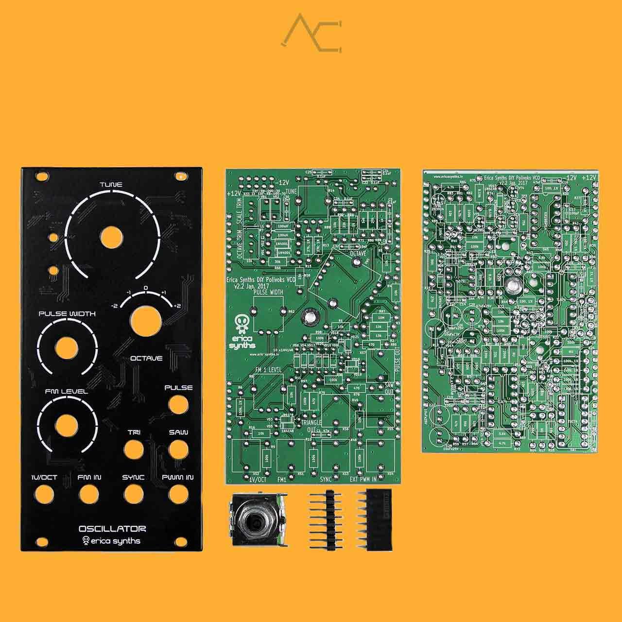 DIY Polivoks VCO (Full Kit) - Erica Synths