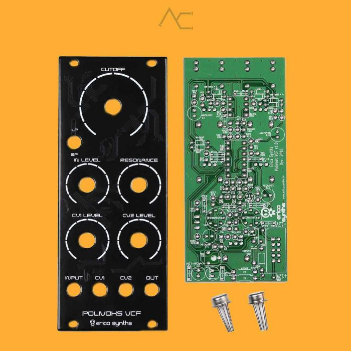 DIY Polivoks VCF II (Full Kit) - Erica Synths