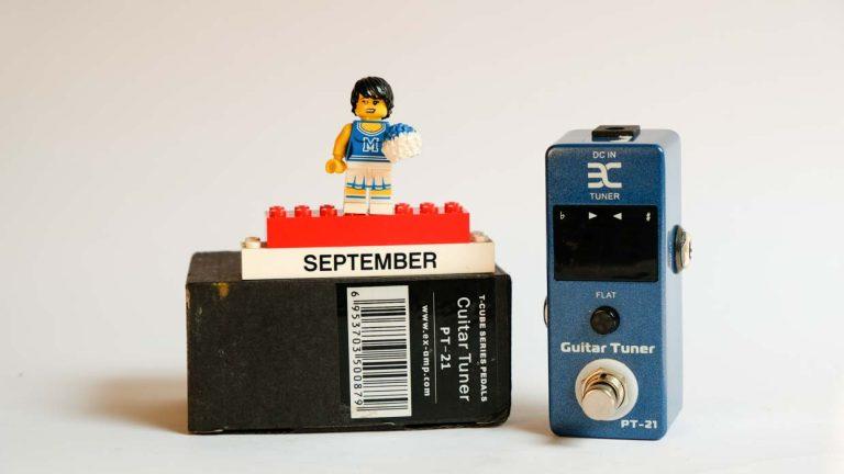 Guitar Tuner - PT21 (Micro Tuner E scale)
