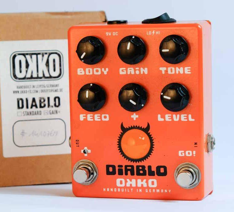 OKKO Pedals - Diablo Gain+