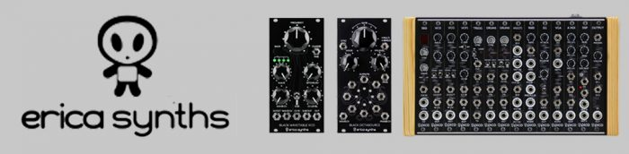 Erica Synths - analog couple - webstore banner