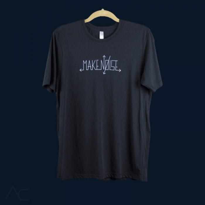Logo Tshirt-makenoisemusic-analogcouple-webstore
