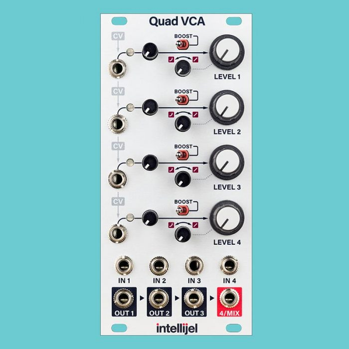Quad VCA - Intellijel_analogcouple